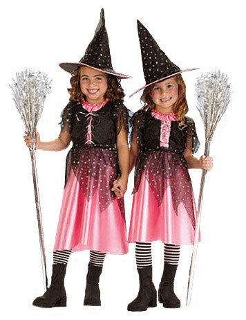 Pink Sparkle Witch Costumes (Toddler Pink Sparkle Witch Costume - Toddler)