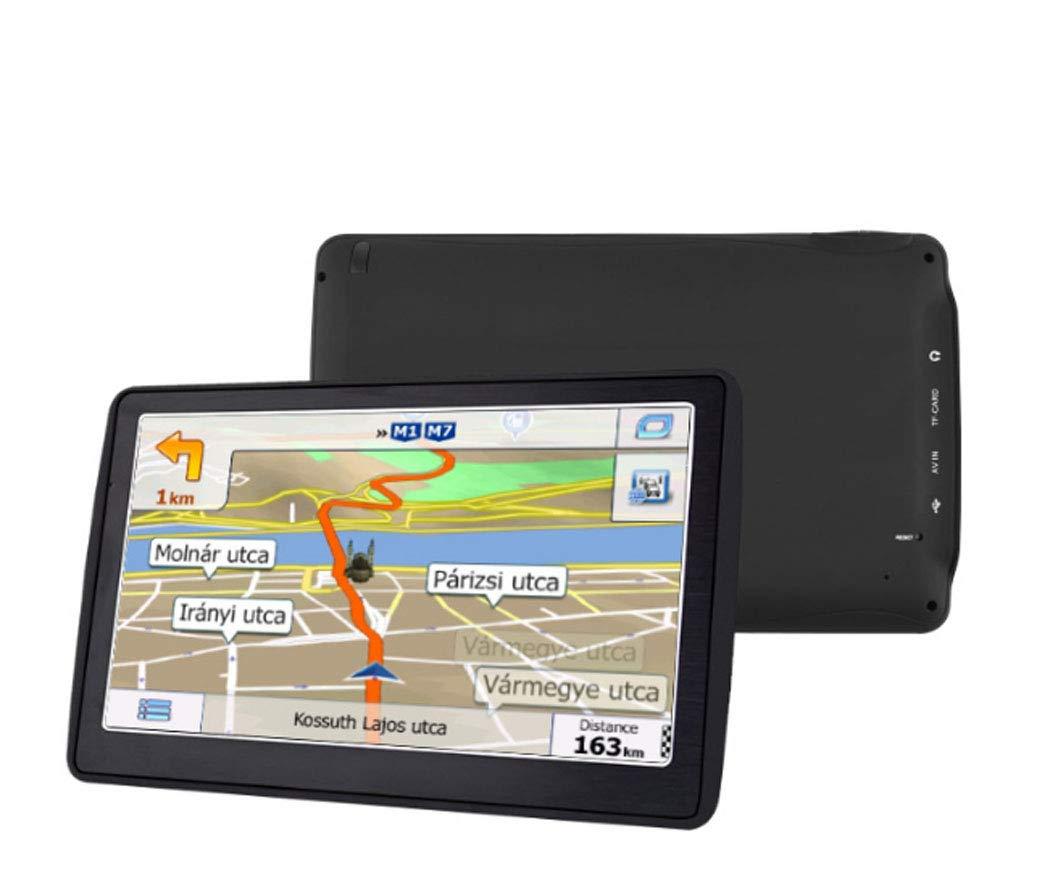 Y&Jack Navegación GPS para el Coche, GPS del Carro 7 Pulgadas HD GPS Navigator, Built-in 256MB + 8GB Sistema de navegación del vehículo, recordatorio de Voz ...