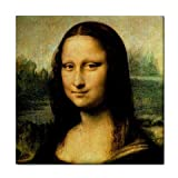 Mona Lisa By Leonardo DaVinci Tile Trivet