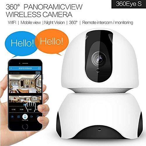 EKUPUZ Full HD WiFi Wireless Home Surveillance IP Camera Pan Tilt Surveillance Cameras with Pan/Tilt 360° View Waterproof Night Vision for Baby Monitor Home Security