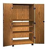 Ironwood Video Cabinet, Dixie Oak (VC36DO)