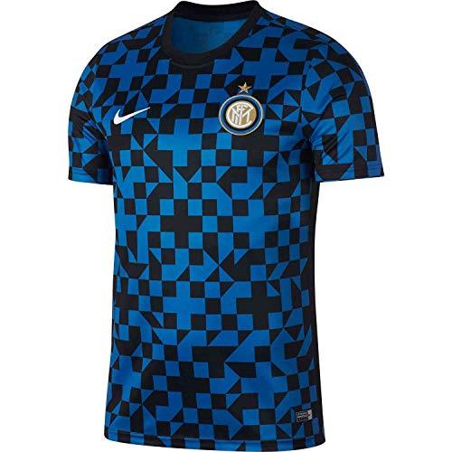 Nike 2019-2020 Inter Milan Pre Match Training Jersey (Blue Spark) (XL)