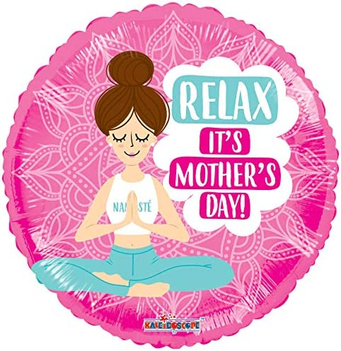 Mom can relax on Mother's day with these Mother's Day Yoga balloons