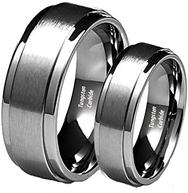 Tungsten Ring Set Wedding_set1 product image 3