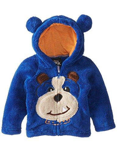 OFIN Little Boys Girls Animal Halloween Costume Fur Fleece Hoodies Coat (Toddler Crocodile Costume)