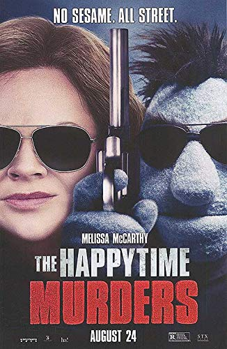 Happytime Murders - Authentic Original 11' x 17' Movie Poster