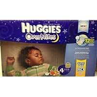 Huggies Overnites Size 4 Super PAK 80 Count