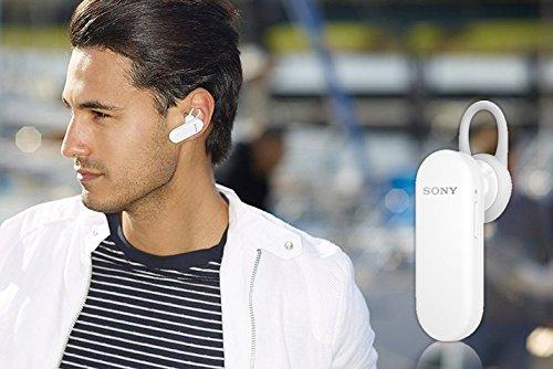Sony MBH20 Audífonos Mono, Bluetooth, Micro USB, color Blanco