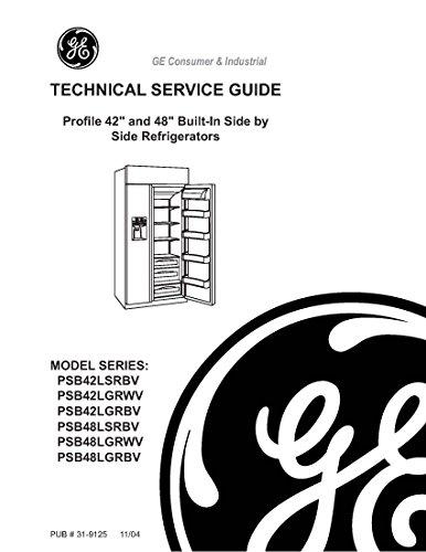 PSB48LSRBV-PSB48LGRWV-PSB48LGRBV service - Refrigerator Built Manual In