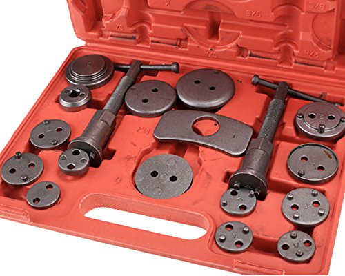 [US STOCK] eshion 18 Piece Brake Caliper Wind Back Tool Set for Disk Brake Pad Replacement Universal Kit Piston Pad Car Mechanics by eshion (Image #2)