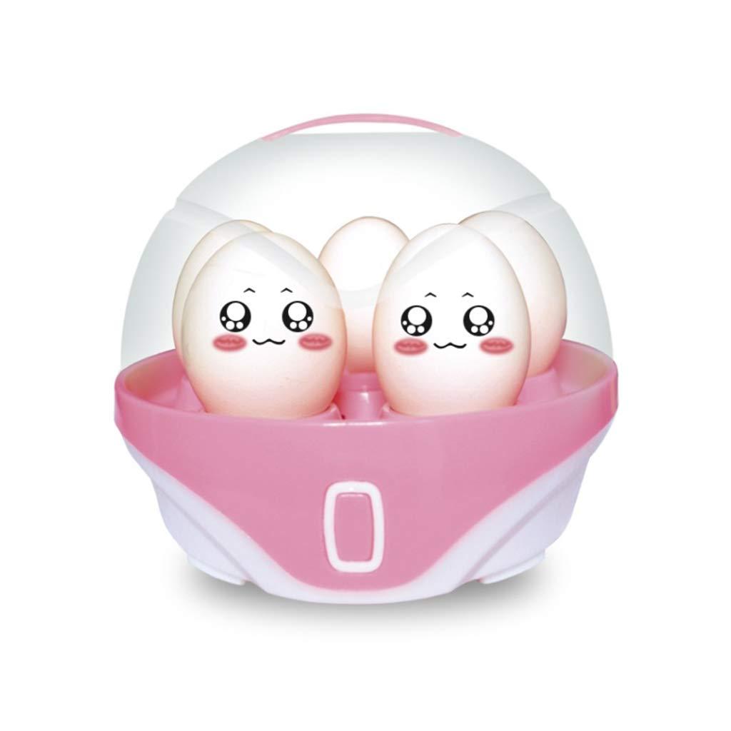 DreamJ Electric Egg Cooker, 6 Egg Capacity Rapid Egg Cooker for Hard or Soft Boiled Eggs(Pink) by DreamJ