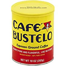 Café Bustelo Espresso Ground Coffee Can, 10 Ounce (Packaging May Vary)