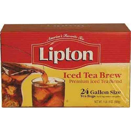 Lipton Smooth Blend Iced Tea - 1 oz. tea bag