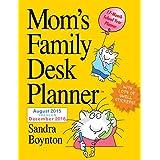 Mom's Family Desk Planner 2016