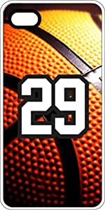 iphone covers Basketball Sports Fan Player Number 28 White Plastic Decorative Iphone 6 4.7 Case