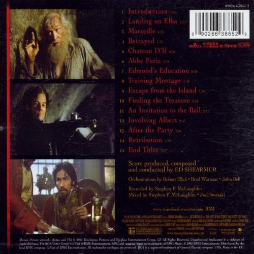 Edward Shearmur The Count Of Monte Cristo Amazoncom Music