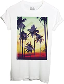 MUSH T-Shirt Sunset Palm Palm Thailandia - Social by Dress Your Style