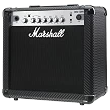 Marshall MG4 Carbon Series MG15CFR 15 Watt Guitar Combo Amplifier 1x8 combo with 2 Channels, Reverb, MP3 Input