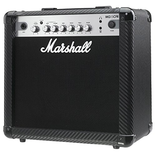 Marshall MG15CFR MG Series 15-Watt Guitar Combo Amp with Reverb by Marshall Amps