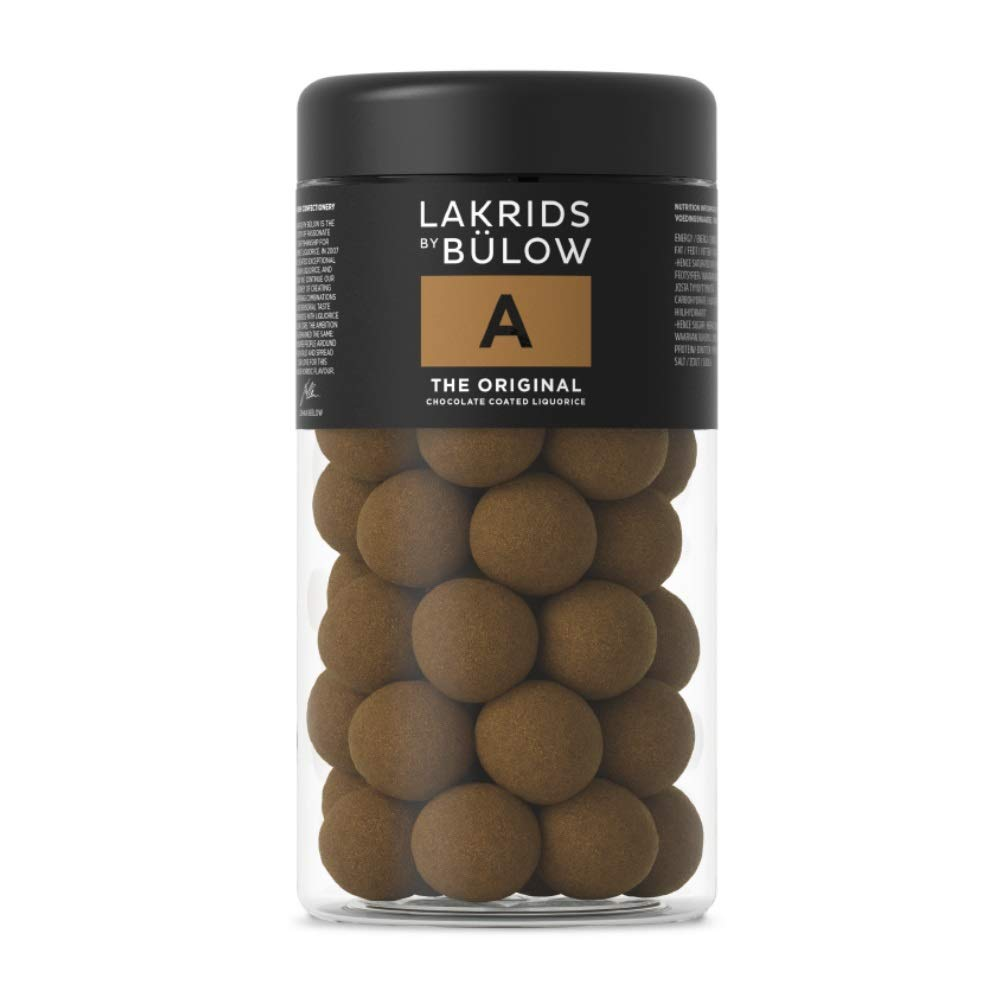 Lakrids by Bülow A- The Original 265g- Danish Confectionery Licorice