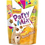 Two (2) 10 Ounce Pouch of Purina® Friskies® Party Mix(TM) Crunch Morning Munch Cat Treats