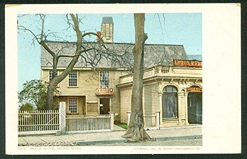 Witch House Salem Massachusetts - Witch House Salem Massachusetts Antique 1901 Postcard