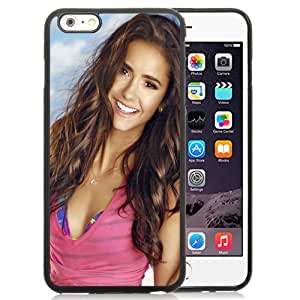 NEW DIY Unique Designed iPhone 6 Plus 5.5 Inch Phone Case For Nina Dobrev Long Hair Phone Case Cover