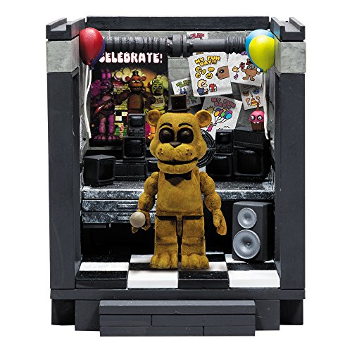 McFarlane Toys Five Nights At Freddy's The Office 'Classic Series' Small Construction (Series Office Set)
