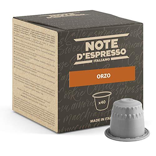 Note d'Espresso - Cebada - Cápsulas - Compatibles con Cafeteras de Cápsulas Nespresso*