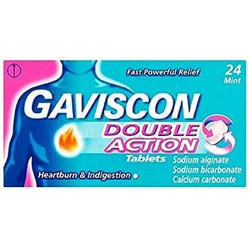 Gaviscon Double Action Tablets 24 Mint