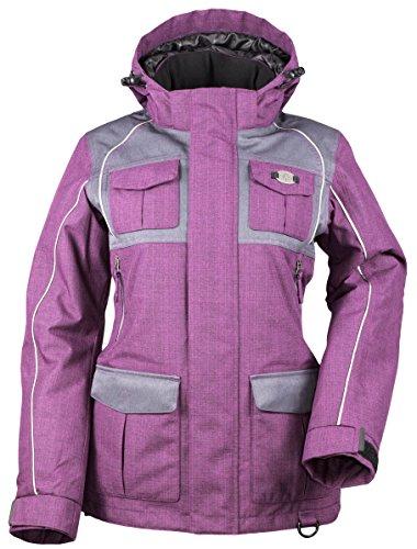 Divas SnowGear Women's Arctic Appeal Jacket (Deep Berry/C...