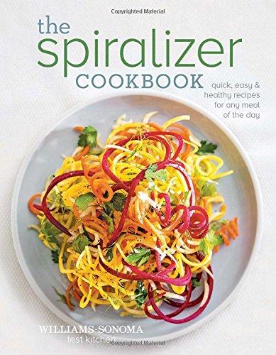 Spiralizer Cookbook Williams Sonoma Test Kitchen product image