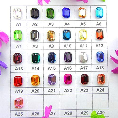 Shaped Glass Beaded Trim Choose From Many Colours