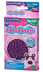 Aquabeads 32578 Solid Bead Pack - Purple...