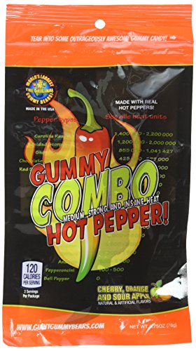 (Spicy Gummy Hot Chilli Pepper Candy Challenge - Jalapeno, Habanero, Ghost)
