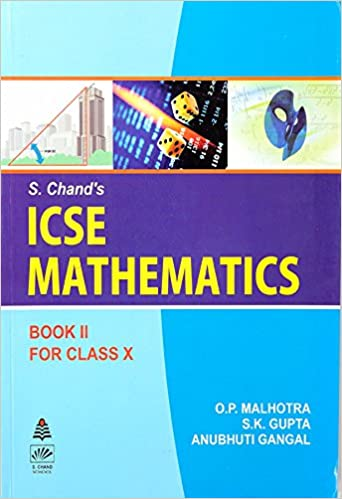 Icse 10th Class Maths Book