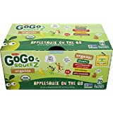 GoGo Squeez Organic Applesauce Variety 20 Count Variety - 3.2 OZ EACH