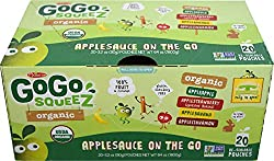 Gogo Squeez Applesauce Go, (Variety Pack, 20 Count)