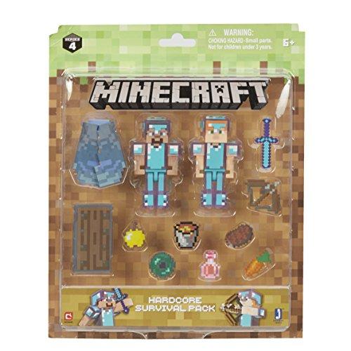 Minecraft Steve & Alex Hardcore Survival Pack from Minecraft