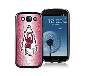 Designer Kansas City Chiefs Samsung Galaxy S5 Case Black Phone Cover by kobestar