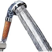 Shower Head Ionic Handheld High-Pressure Water-Saving Filtration Hand Showerhead