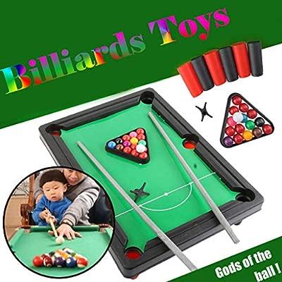 Dkings Mini Mesa de Piscina, Mesa de Mesa Premium Mini Snooker ...