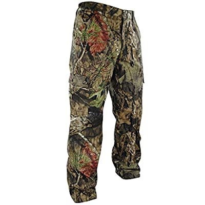 Mossy Oak Youth Boys Camouflage Cotton Mill Hunting Pants Available in Multiple Camo Patterns
