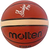 fedd418d0145a Minnesota Lynx Sylvia Fowles Autographed Hand Signed FIBA Molten Basketball  with Proof Photo of Signing