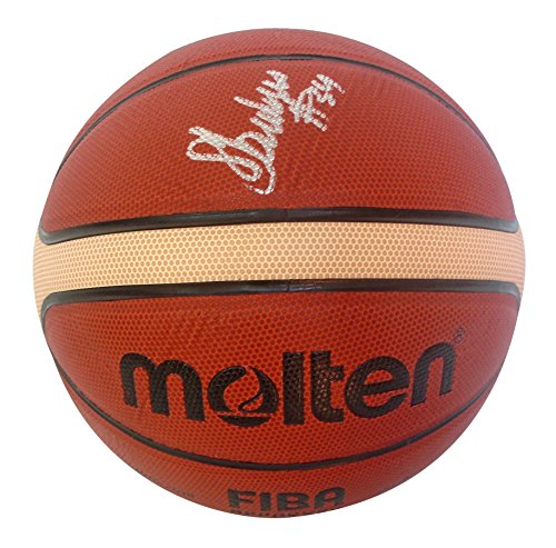 Minnesota Lynx Sylvia Fowles Autographed Hand Signed FIBA Molten Basketball with Exact Proof Photo of Signing, Chicago Sky, LSU Tigers, United States Womans National Team, Team USA, USWNT, COA