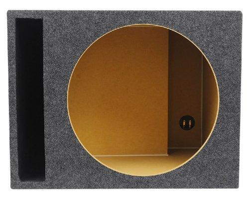 Vented Car Audio Subwoofer Box 2.6 Cubic Ft. Sub Enclosure ()