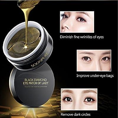 Amazon.com: Oro Negro Máscara de colágeno ojo Eye stips Eye ...