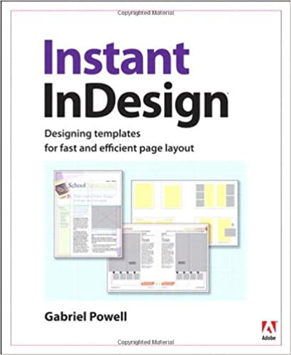 instant indesign designing templates for fast and efficient page
