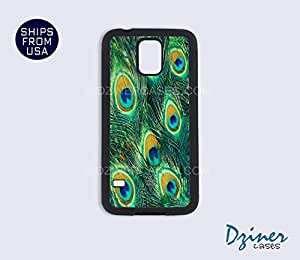 Galaxy S4 Case - Peacock Feather Old