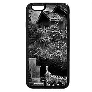 iPhone 6S Plus Case, iPhone 6 Plus Case (Black & White) - Watermills